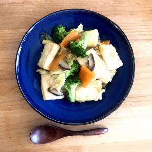 【レシピ】揚げ豆腐と野菜の中華丼
