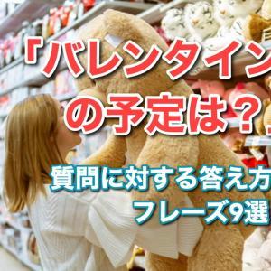 【動画】英語の「バレンタインの予定は?」の質問に対するフレーズ16選!
