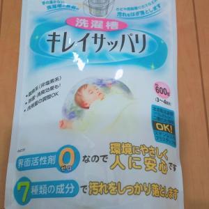 【酸素系】おすすめの洗濯槽クリーナー『キレイサッパリ』