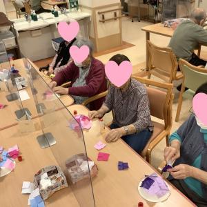 デイサービスセンター初音の杜    製作活動 紫陽花