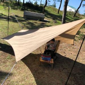 日本海側最大級のオートキャンプ場「大島キャンプ場」で息子と2人キャンプしてきました!
