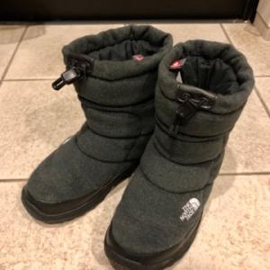 普段26.5cm履くけど、ノースフェイス 【 Nuptse Bootie Wool III /ヌプシブーティー ウール3】 は26.0cm履いてます!