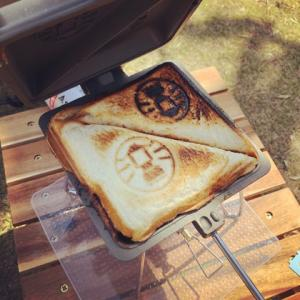 キャンプで大活躍!ホットサンドイッチが簡単に作れるホットサンドメーカー&クッカー
