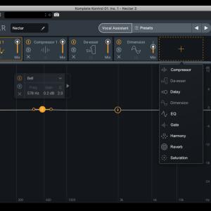 Nectar3使ってみました ボーカルミックスを自動で。 AI・ピッチ補正付き