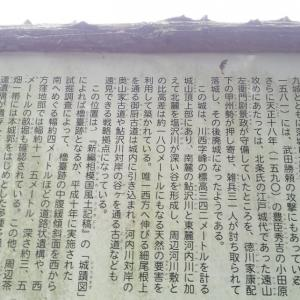 第二東名の工事で消えてしまう「河村新城跡」