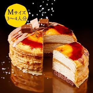 洋菓子カサネオ ミルクレープ塩キャラメル食べてみた!