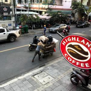 ダナン旅行3日目 (HIGHLANDS COFFEEへGO!)