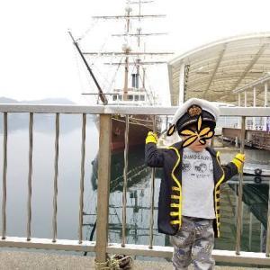 【子連れ淡路島旅行】うずしおを楽しむ1日プラン!足湯に浸かってクルーザーでカモメにエサやり~3泊4日・2日目~