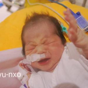 【産後2日目】NICUでの赤ちゃんの様子
