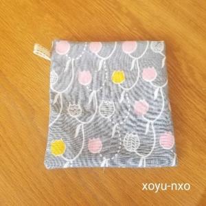 【簡単可愛い♪】クレンゼ®️裏地で抗菌マスクケースを手作りしました!