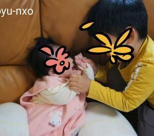 *4歳差兄妹の成長記録【4歳3ヶ月&0歳3ヶ月】2020年11月*