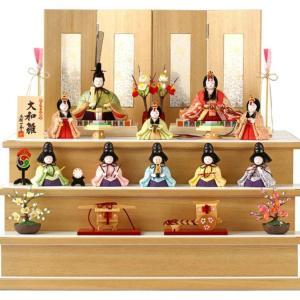 【ひな人形選び②】やっぱり五人囃子まで揃えたい?一秀作コンパクト雛飾りの『十人飾り』を検討