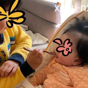 *4歳差兄妹の成長記録【4歳5ヵ月&0歳5ヵ月】2021年1月*