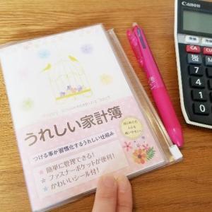 【うれしい家計簿】やっぱり手書きがいい。シンプルでとても付けやすそうです。