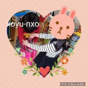【4歳バレンタイン】今年も愛しのあの子から…(o^・^o)♡