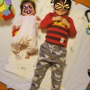 *4歳差兄妹の成長記録【4歳7ヵ月&0歳7ヵ月】2021年3月*