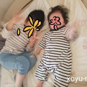 *4歳差兄妹の成長記録【4歳8ヶ月&0歳8ヶ月】2021年4月*