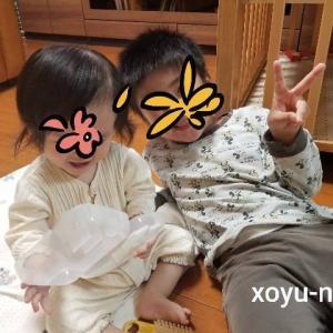 *4歳差兄妹の成長記録【4歳10ヶ月&0歳10ヶ月】2021年6月*
