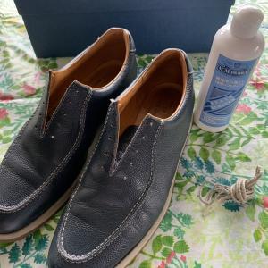 夏靴を仕舞う前に。