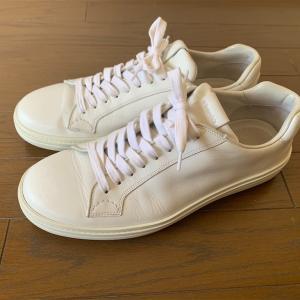 僕の白いChurch'sのスニーカー。①