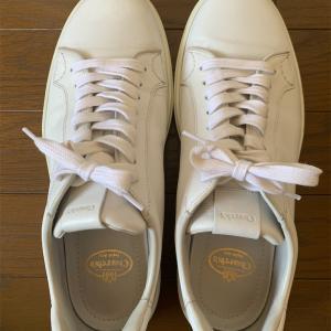 僕の白いChurch'sのスニーカー。③ ラスト