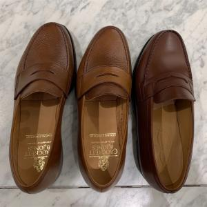 伊勢丹 靴博 2021 に行って来ました。(4)ローファー考
