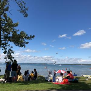 ちょっとお弁当持ってピクニック・・・には遠すぎた、Sylvan Lake