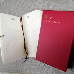 「3年日記」書きたくなる記録の効果!おしゃれなものを!