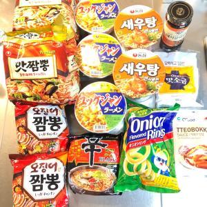 韓国食品スーパー イエスマート 購入品
