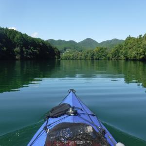 夏休み遠征記 2日目 ~湖から川へ~