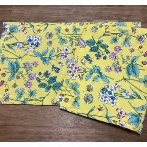 新旧チェンジ♪古い布はエコ雑巾に。