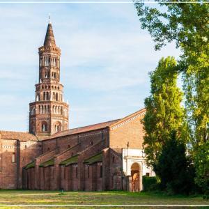 【ミラノお勧め観光地②】街外れの修道院 Chiaravalle Abbey