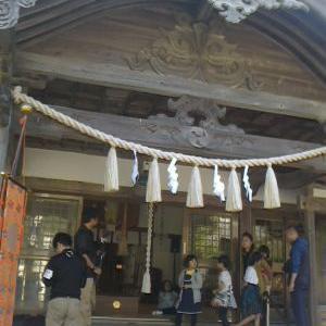 即位大礼奉祝祭の神事in政彦神社