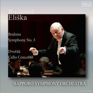 エリシュカ/札幌交響楽団 ブラームス 交響曲第3番 ドヴォルザーク チェロ協奏曲  暖かい響き