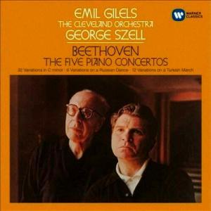 ベートーヴェン ピアノ協奏曲 第4番 ギレリス&セル グルダの演奏も良かったけれど、こちらも凄い