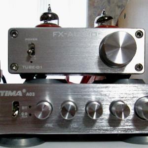 パワーアンプを交換しました。AIYIMA A03 サブウーファーで音に奥行きが