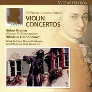 クレーメル モーツァルト ヴァイオリン協奏曲第1番 若々しい指揮者とヴァイオリニストの映像