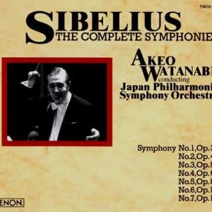シベリウス 交響曲第6番 渡辺暁雄指揮日本フィルハーモニー交響楽団世界初のステレオ版交響曲全集