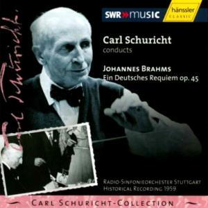 シューリヒト「ドイツ・レクイエム」 若いプライの瑞々しい声と歌、シュターダの知的で清楚な佇まい