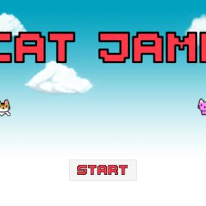 今週のお題「特大ゴールデンウィークSP」アンドロイド用、ジャンプアクションゲーム、ねこジャンプを公開致しました。