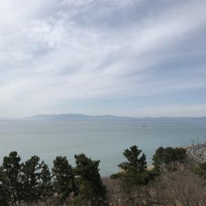 琵琶湖です。