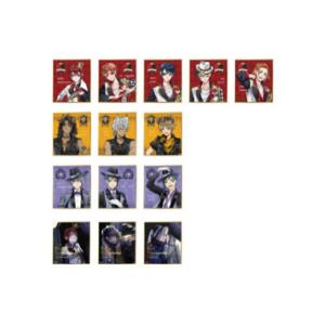 ディズニー ツイステッドワンダーランド ビジュアル色紙コレクションvol.1 14個入りBOX / vol.2 15個入りBOX