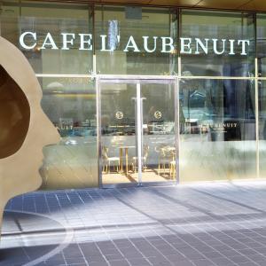 【夫婦で行くソウル旅】 新沙にあるスイーツが美しいカフェ