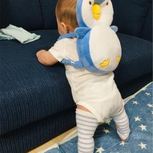 ペンギンBOYがかわいすぎる!リュック型のセーフティークッションを購入しました。