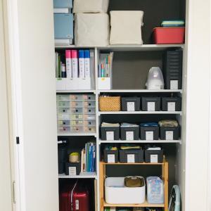 改革①リビングの収納棚 手を伸ばしやすいエリアに、使用頻度の高いものを収納する!