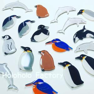 野鳥グッズが欲しくて始めたハンドメイド活動!!野鳥・生き物アクセサリーを作ってます♬