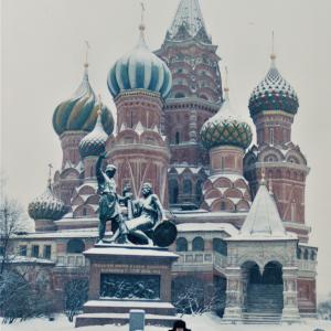 外国の街の記憶~ソ連時代のモスクワ(ロシア)