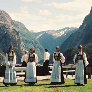 外国の街の記憶~1997年に初めてみたフィヨルド;ベルゲン(ノルウェー)