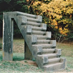 戦争遺跡~④佐倉城址公園の「12階段」  (部隊はレイテ島で全滅)