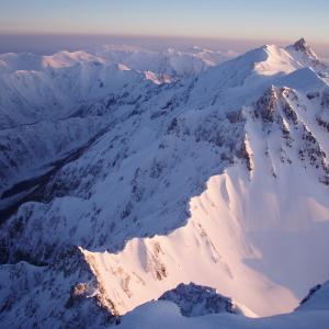 残雪期の穂高岳~2007年の写真記録